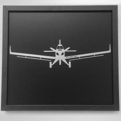 Quadro Ipanema - Avião Agrícola